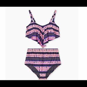 Pink and Purple bikini